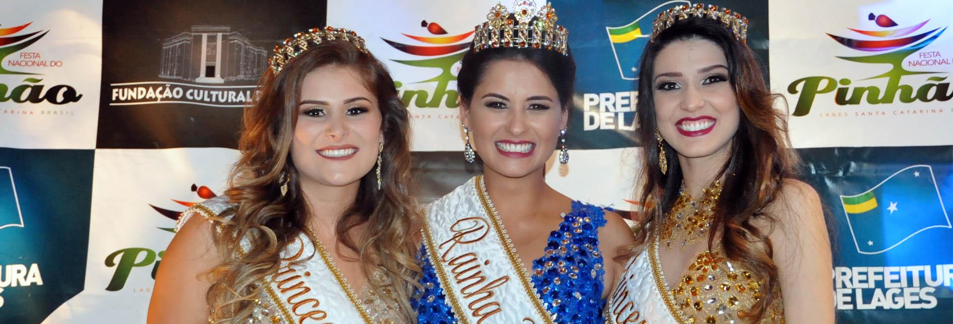 Rainhas e princesas da Festa do Pinhão 2016