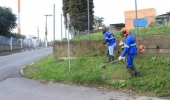 Limpeza urbana é intensificada nos bairros do Comunidade Melhor - 2019-06-03 09:51:13