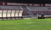 Estádio Municipal recebe mutirão de serviços para receber os jogos do Inter de Lages na série B - 2019-06-03 11:02:34