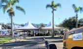 Estrutura do Recanto do Pinhão Aracy Paim toma conta da praça Vidal Ramos Sênior - 2019-06-03 17:12:49