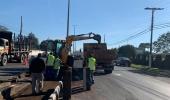 Final de semana de intenso trabalho na melhoria da infraestrutura da cidade - 2019-06-10 10:19:46