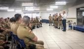 Polícia Militar recebe reforço de contingente para Festa do Pinhão - 2019-06-14 17:57:38