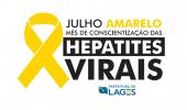 Julho Amarelo: Unidades de Saúde e Vigilância Epidemiológica abrirão à noite no dia 10 de julho para vacinação contra a hepatite B  - 2019-06-25 15:18:41