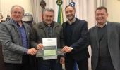 Diretoria do Sicredi Altos da Serra apresenta relatório de resultados da instituição para o prefeito Ceron - 2019-07-02 14:07:47