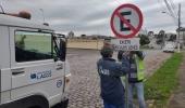 Novas regras para estacionamento na rua Jairo Luiz Ramos, no Sagrado Coração de Jesus - 2019-07-04 15:29:09