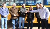 Ônibus zero quilômetro irá beneficiar alunos moradores de quatro localidades rurais de Lages  - 2019-07-04 15:38:07