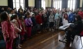 Festival Internacional Música na Serra: presença do Lages Melhor nos ensaios do Coro Infantil - 2019-07-18 11:45:00