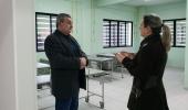 Prefeito Ceron vistoria serviços na UPA na véspera da inauguração - 2019-07-19 11:20:27