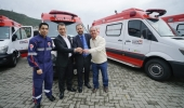 Vice-prefeito Juliano Polese recebe nova ambulância para atendimento do Samu em Lages - 2019-07-19 15:12:27
