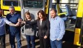 Educação Municipal recebe novo micro-ônibus para transporte de alunos - 2019-08-09 10:07:50