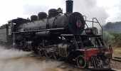 A locomotiva mais charmosa do mundo inicia roteiros de passeios em Lages - 2019-08-10 10:25:06