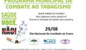 Saúde realizará capacitação de profissionais sobre cessação do uso do tabaco - 2019-08-21 17:12:37