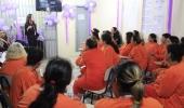 Em agosto, o roxo é a cor da esperança: mulheres do Presídio Regional saem das celas para exercitar a libertação do auto valor  - 2019-08-27 18:10:32