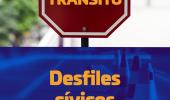 Trânsito será interditado nesta terça e no sábado por conta dos desfiles cívicos  - 2019-09-02 18:07:33