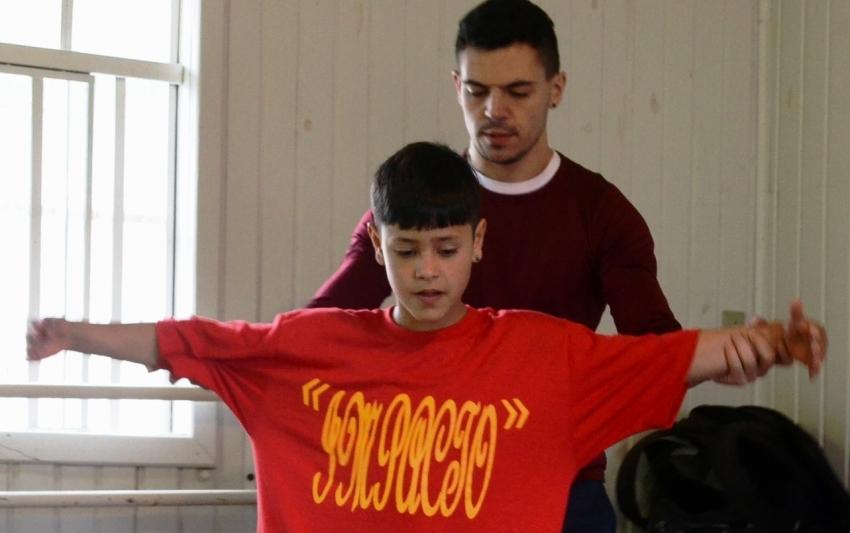 Kauan Oliveira aperfeiçoa a dança nas aulas do Lages Melhor para participar de seletiva da Escola Bolshoi   - 2019-09-06 10:26:52