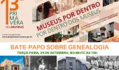 13ª Primavera de Museus: dia de conversar sobre a genealogia das famílias lageanas - 2019-09-23 18:44:32