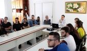 Estudantes de Arquitetura e Urbanismo da Unisul conhecem programas habitacionais de Lages, um referencial em Santa Catarina  - 2019-09-27 17:06:32
