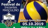 Ginásio Jones Minosso recebe, neste sábado, o 2º Festival de Voleibol Masculino para iniciantes - 2019-10-02 15:16:35
