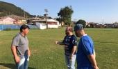 Arquibancada do campo de futebol, do bairro Centenário, será inaugurada neste sábado - 2019-10-04 15:45:22