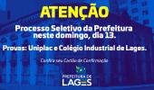 Processo seletivo para vagas gerais da prefeitura será realizado na Uniplac e no Colégio Industrial neste domingo  - 2019-10-10 15:45:19