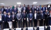 Presidente da Associação Brasileira de Produtores de Lúpulo, empresário em Lages, comemora solenidade de instalação da Câmara da Cerveja  - 2019-10-31 15:56:35