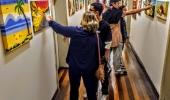 Exposições no Hall da Fundação Cultural: alunos da Escola de Artes mostram trabalhos dos cursos de desenho e pintura em tela - 2019-11-04 10:04:54