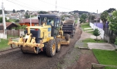 Comunidade Melhor: ruas sem pavimento recebem melhorias na região do bairro Penha - 2019-11-06 15:33:02