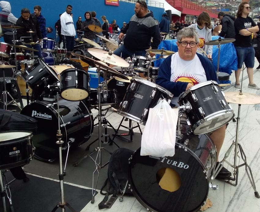 Lages 253 anos: encontro de bateristas terá a participação de músico de 61 anos de idade - 2019-11-08 09:00:51