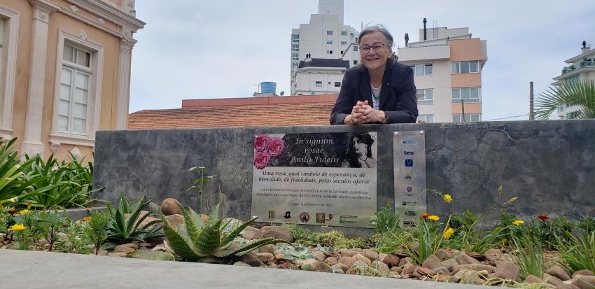 Lages reverencia a história em homenagem à Anita Garibaldi  - 2020-02-14 16:28:06