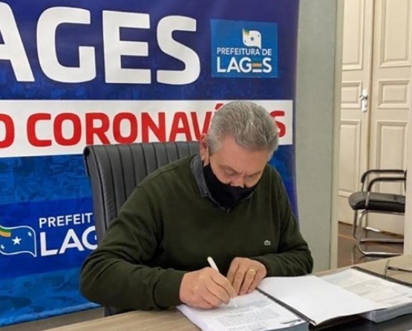 Coronavírus: Decreto municipal com novas restrições em Lages para combate e prevenção à Covid-19 é publicado oficialmente - 2020-06-27 14:20:46