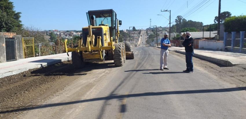 Planejamento e obras: Rua com padrão de avenida no bairro Tributo  - 2021-04-29 10:55:24