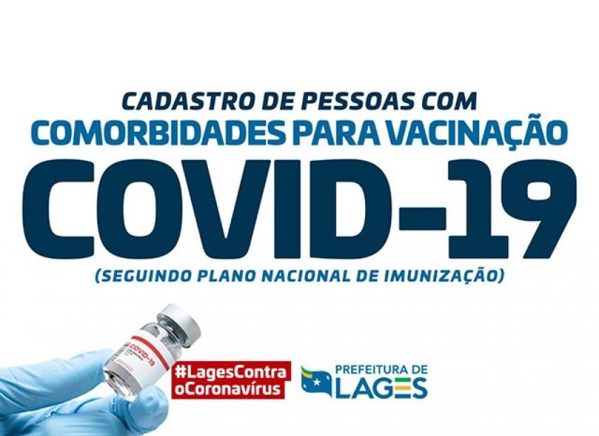 Secretaria da Saúde abre cadastramento de pessoas com comorbidades para vacinação contra a Covid-19  - 2021-05-04 17:32:31