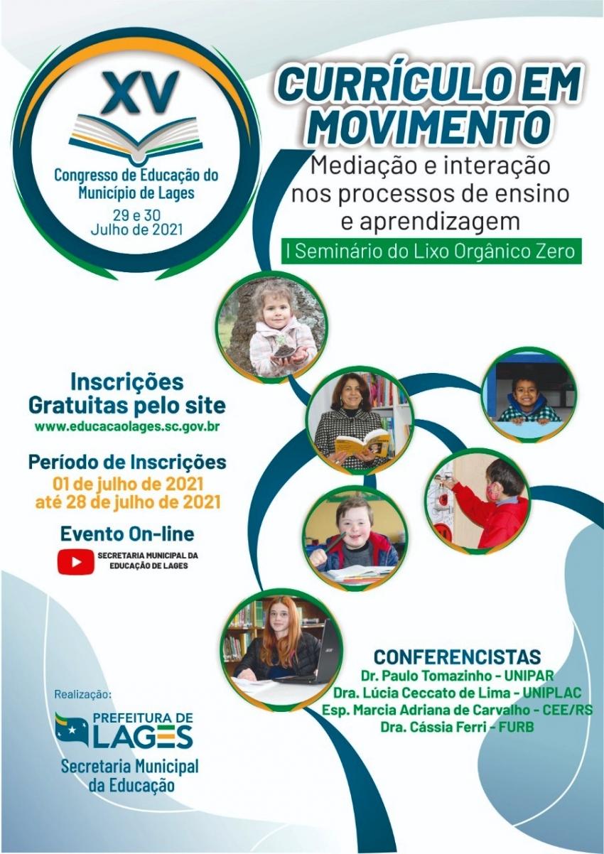 Congresso de Educação em 10 dias registra mais de 1300 inscrições - 2021-07-14 09:34:48