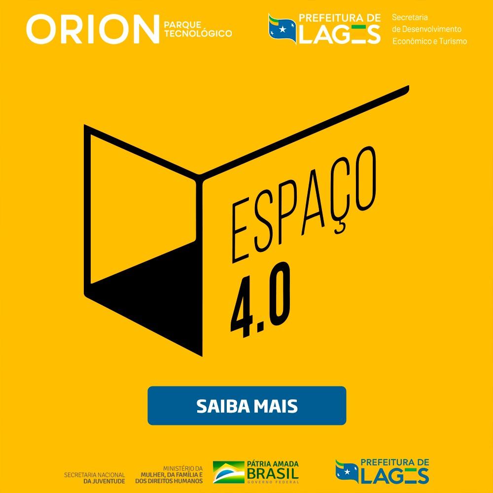 Popup Espaco 4.0 Orion Parque Prefeitura de Lages