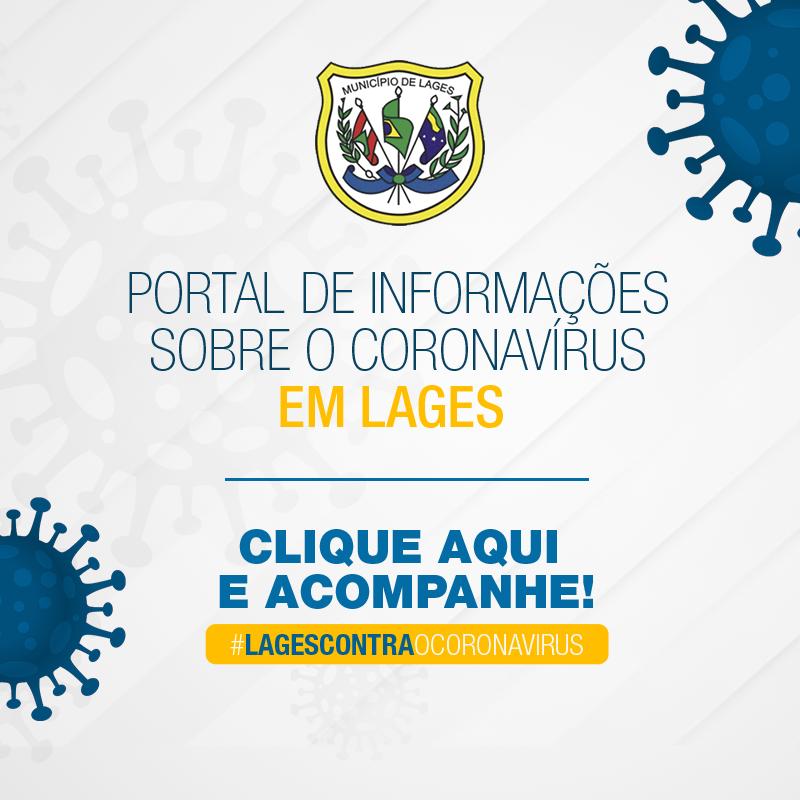 Popup Coronavírus Prefeitura de Lages